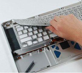 Wymiana klawiatury w sprzęcie Apple