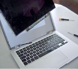 Naprawa ekranu w sprzęcie Apple